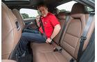 Mercedes CLA 220 CDI, Rücksitz, Gurt