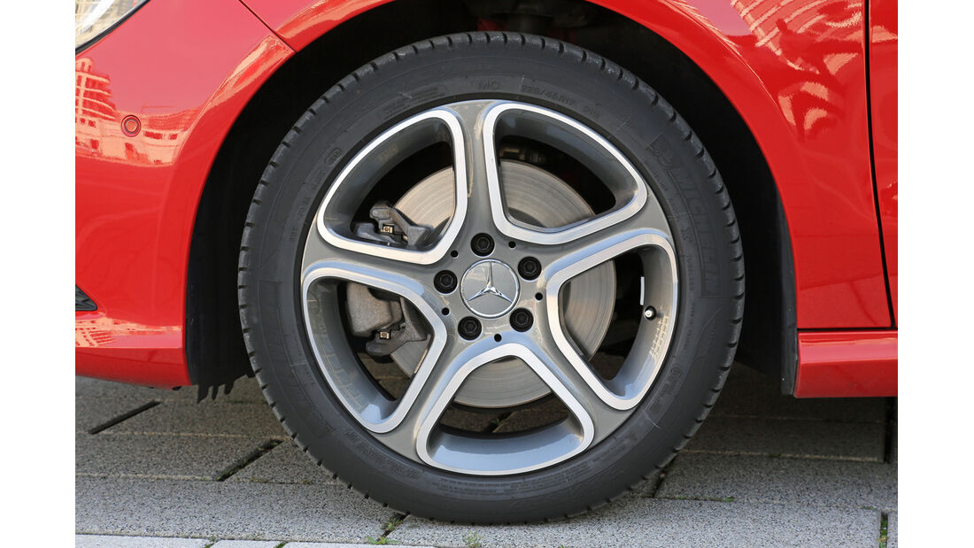 Mercedes CLA 250, Rad, Felge