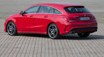 Mercedes CLA 250 Shooting Brake AMG Line, Heckansicht