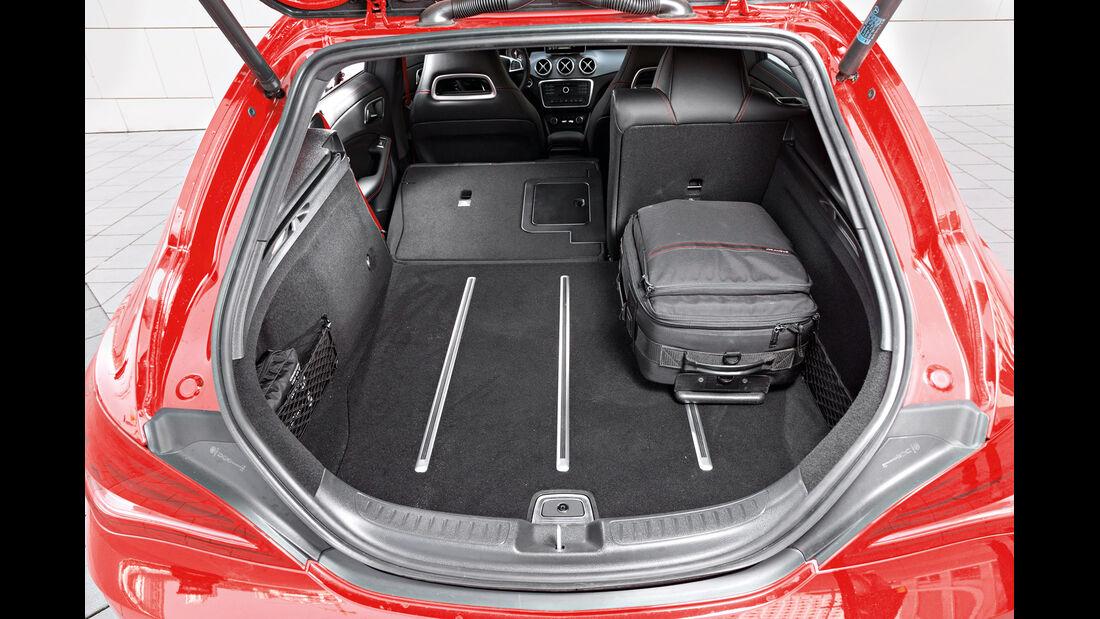 Mercedes CLA 250 Shooting Brake AMG Line, Kofferraum