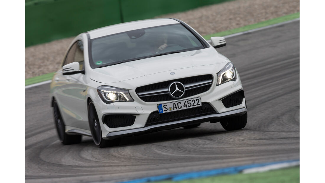 Mercedes CLA 45 AMG 4MATIC, Frontansicht