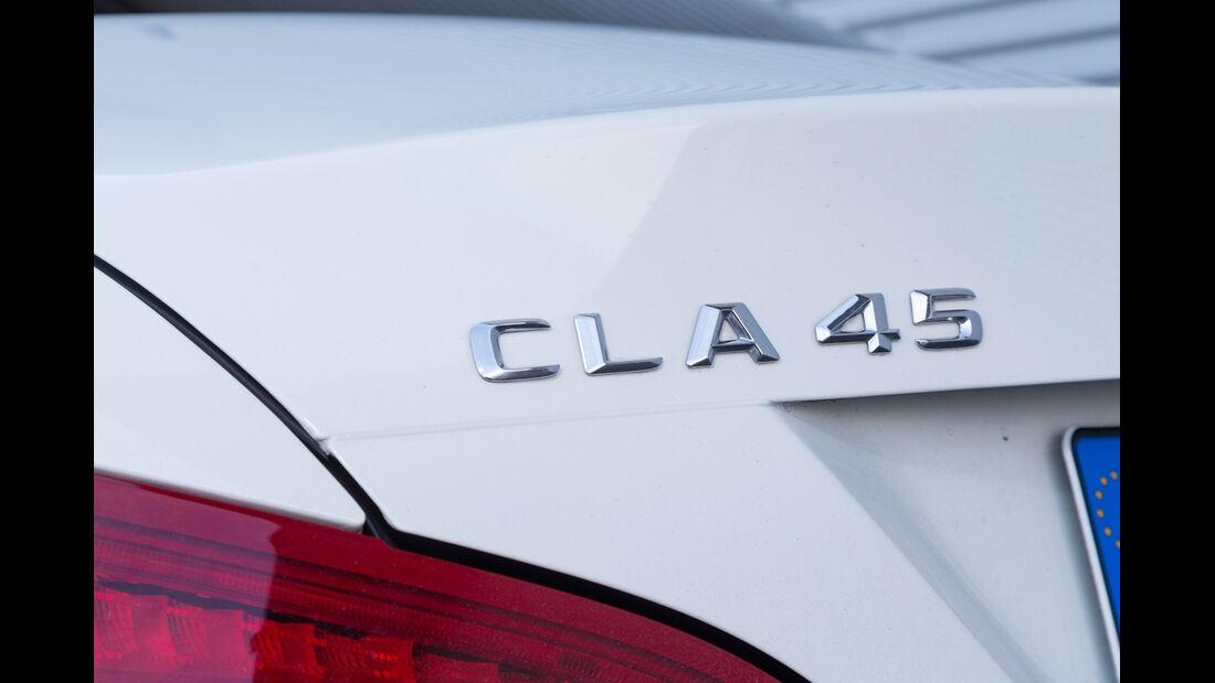 Mercedes CLA 45 AMG 4MATIC, Typenbezeichnung