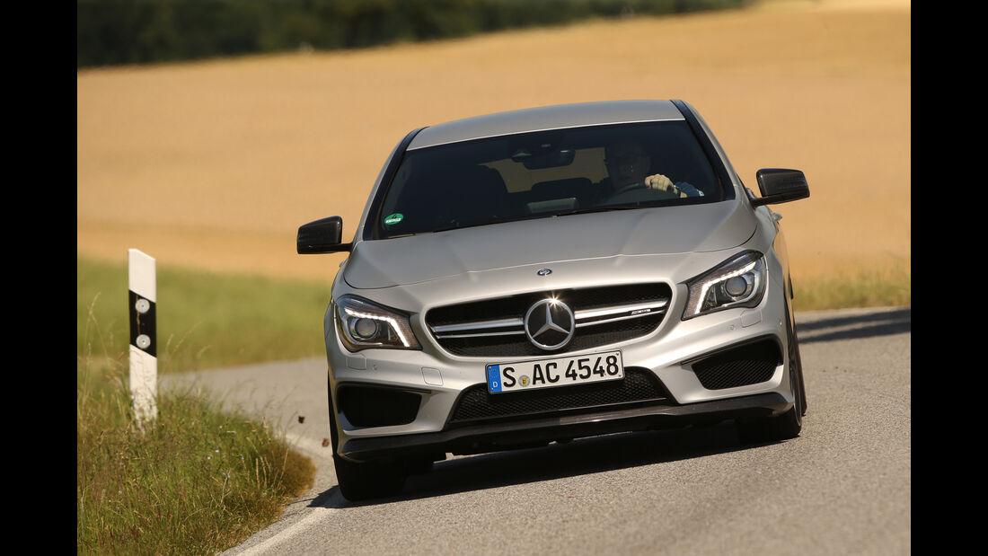 Mercedes CLA 45 AMG Shooting Brake, Frontansicht