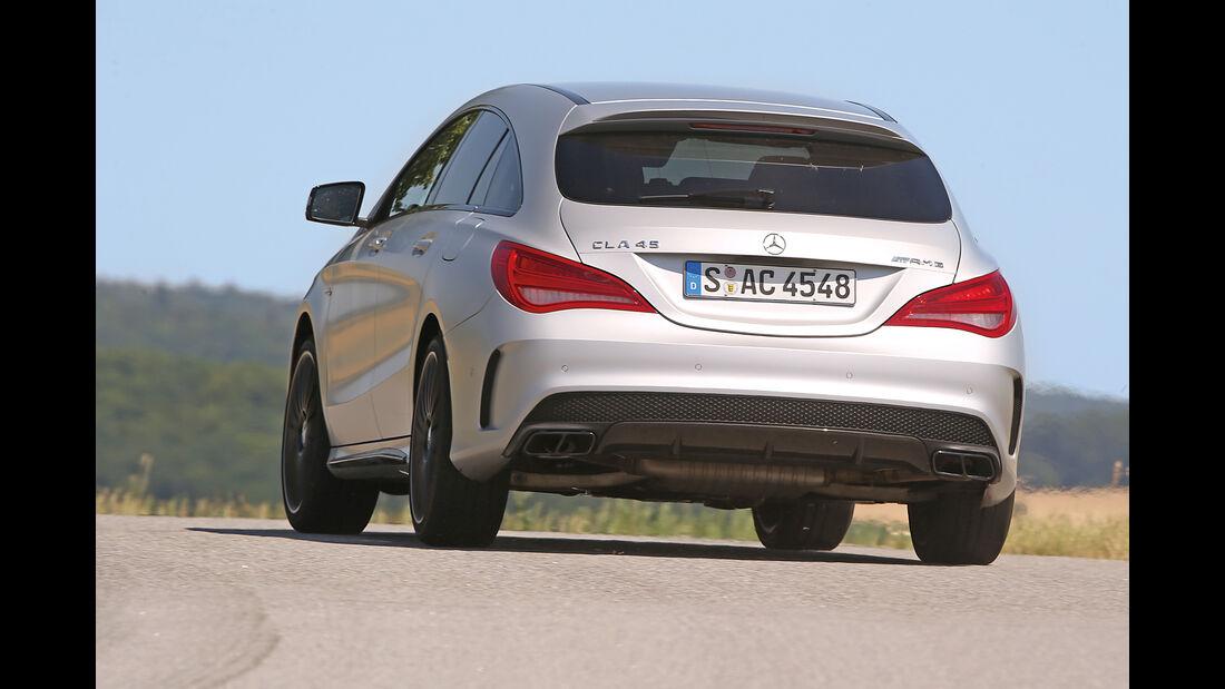 Mercedes CLA 45 AMG Shooting Brake, Heckansicht