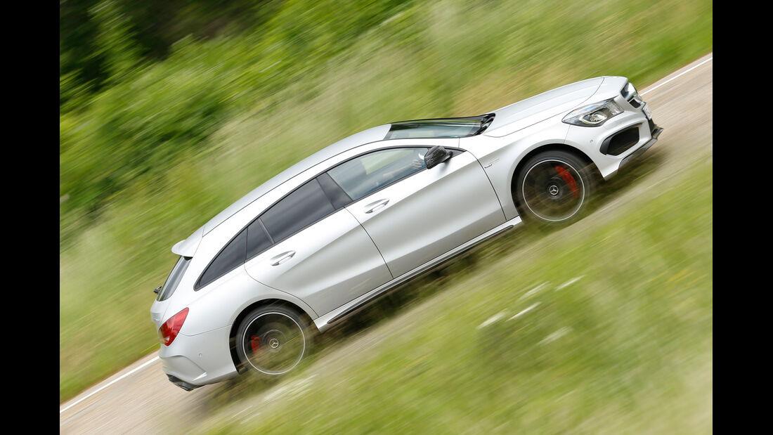 Mercedes CLA 45 AMG Shooting Brake, Seitenansicht