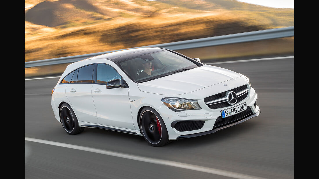 Mercedes CLA 45 AMG Shooting Brake