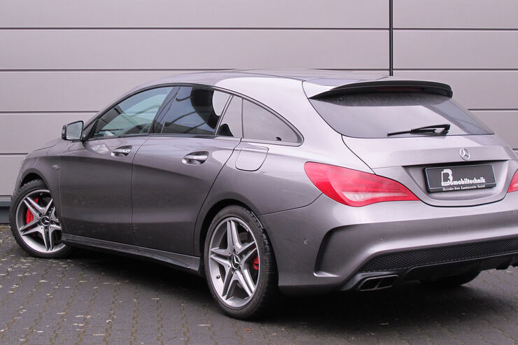 Mercedes CLA 45 AMG Shooting Brake by B&B