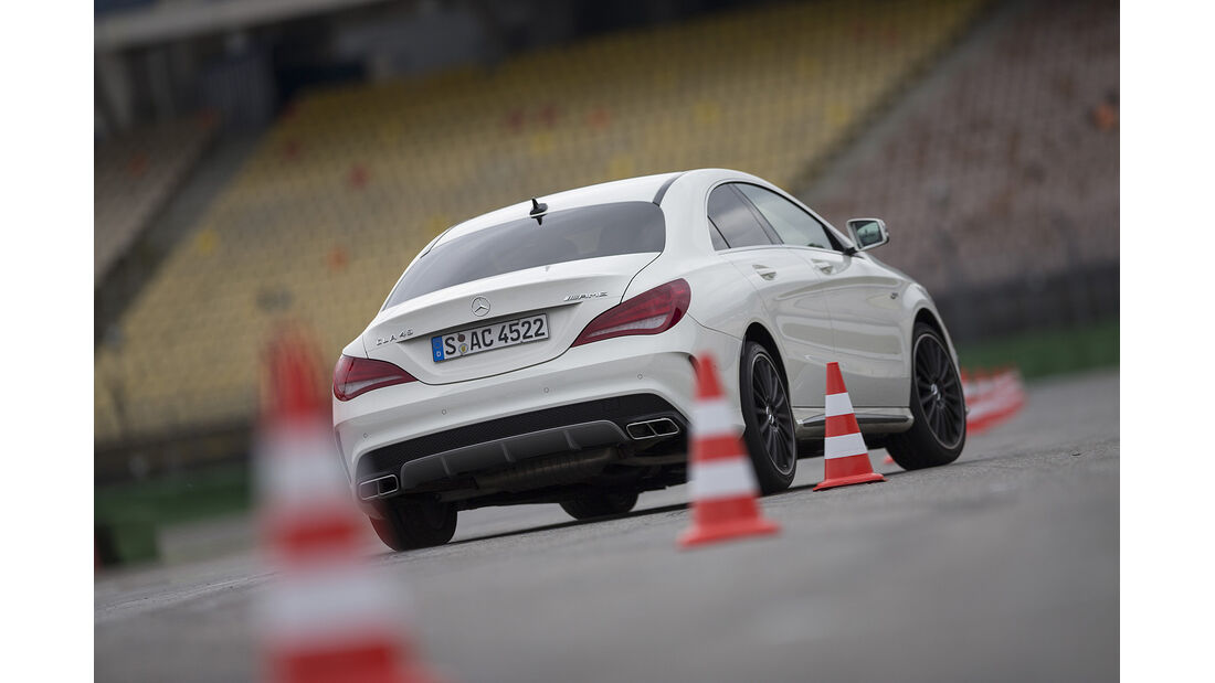 Mercedes CLA 45 AMG, Vergleichstest, spa 04/2014, Heftvorschau