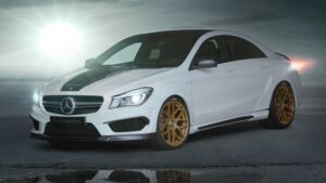 Mercedes CLA 45 AMG by Loewenstein
