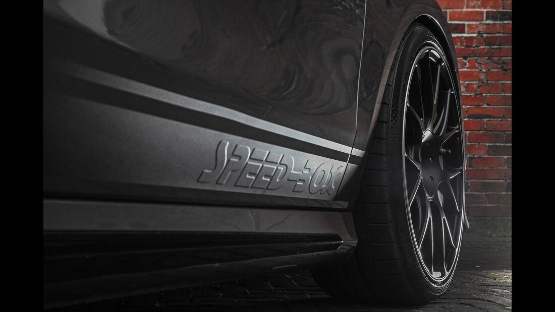 Mercedes CLA 45 AMG mit Felgen von Schmidt