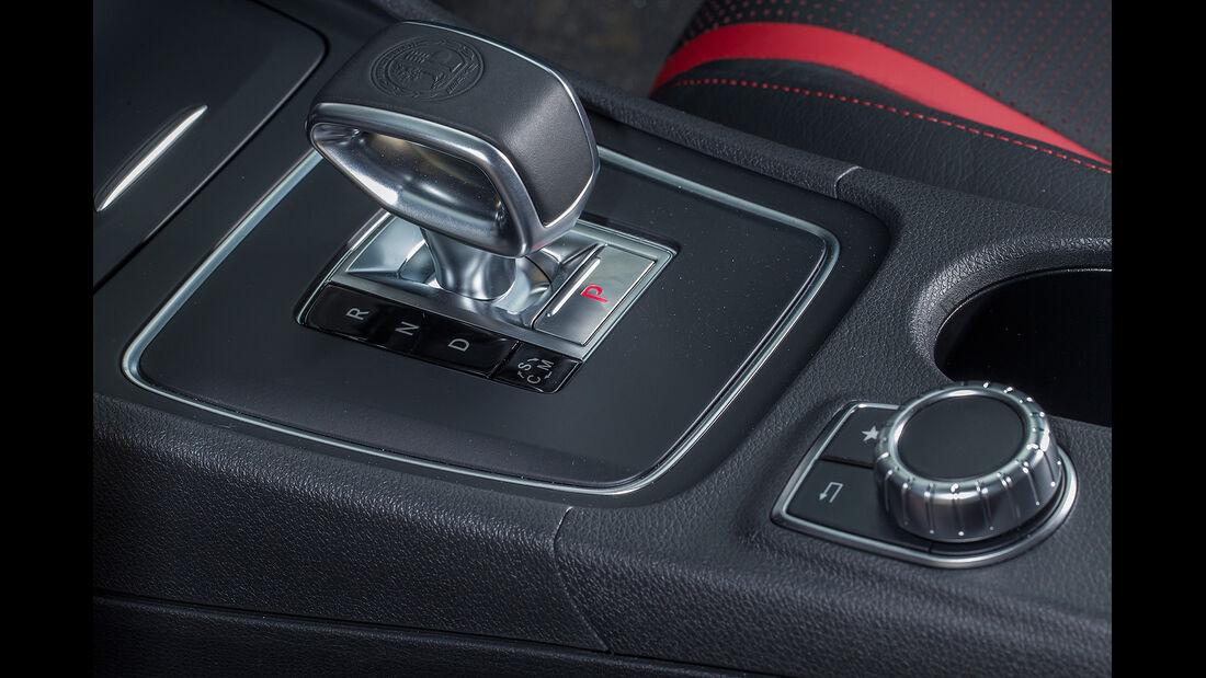 Mercedes CLA 45 Shooting Brake, Automatik, Wählhebel