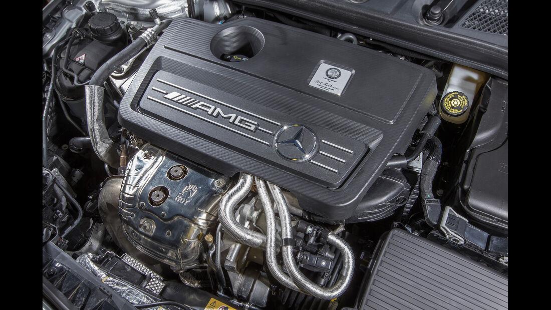 Mercedes CLA 45 Shooting Brake, Motor