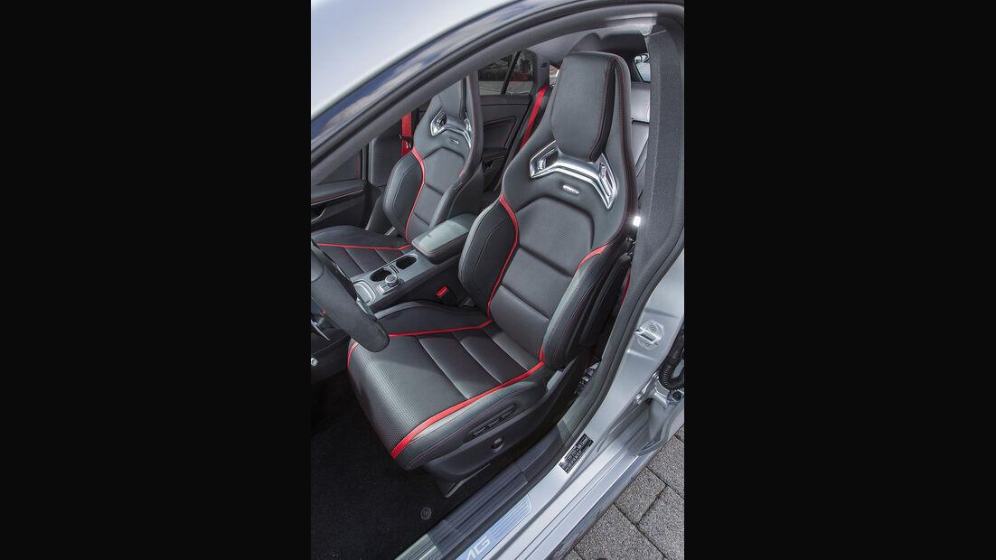 Mercedes CLA 45 Shooting Brake, Sportsitze