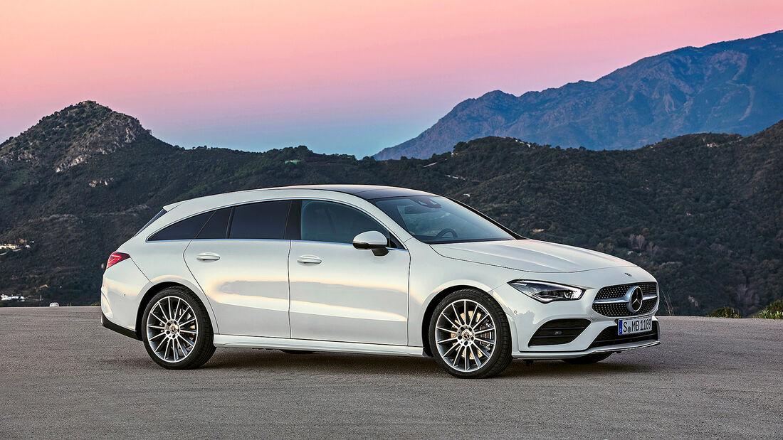 Mercedes CLA Shooting Brake, Autonis 2020