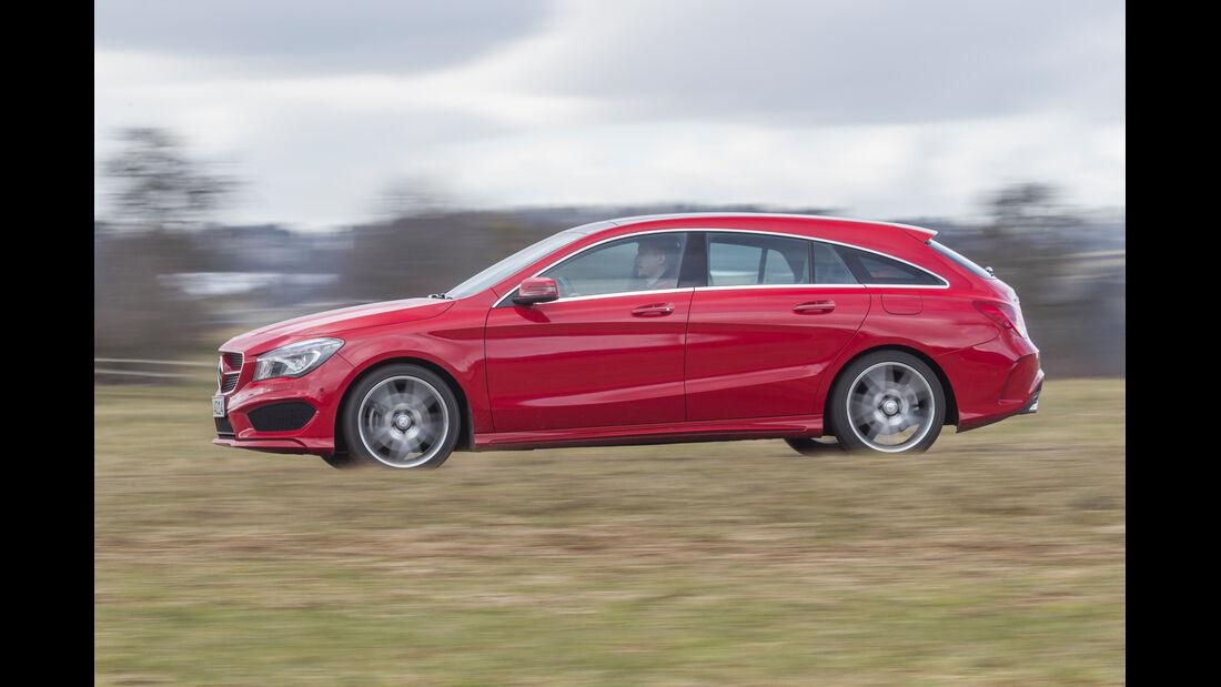 Mercedes CLA Shooting Brake, Seitenansicht