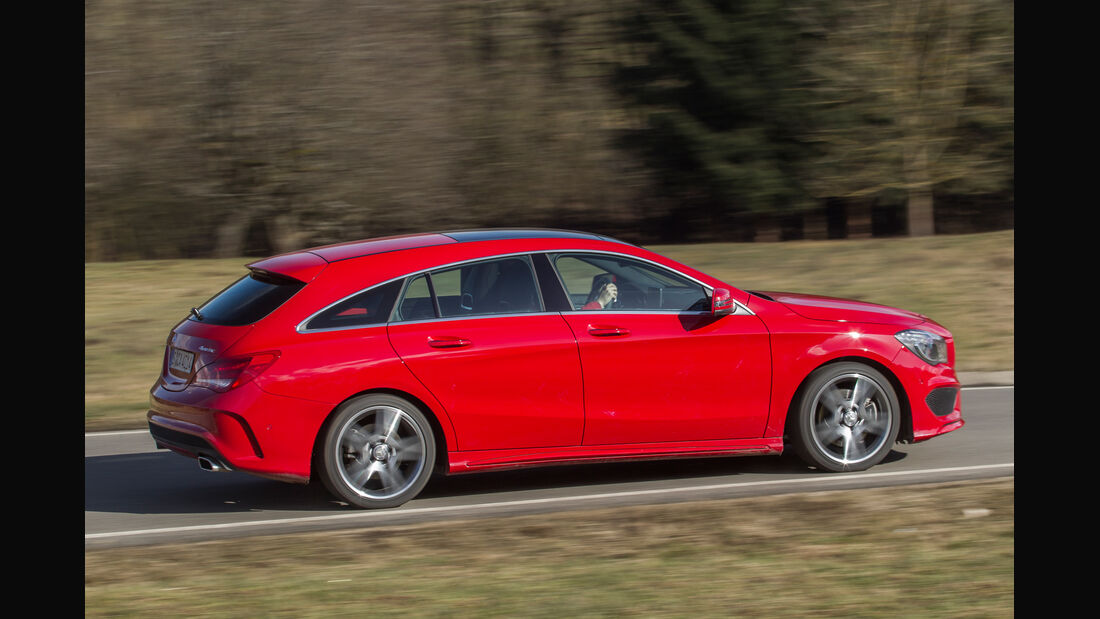 Mercedes CLA Shooting Brake, Seitenansicht