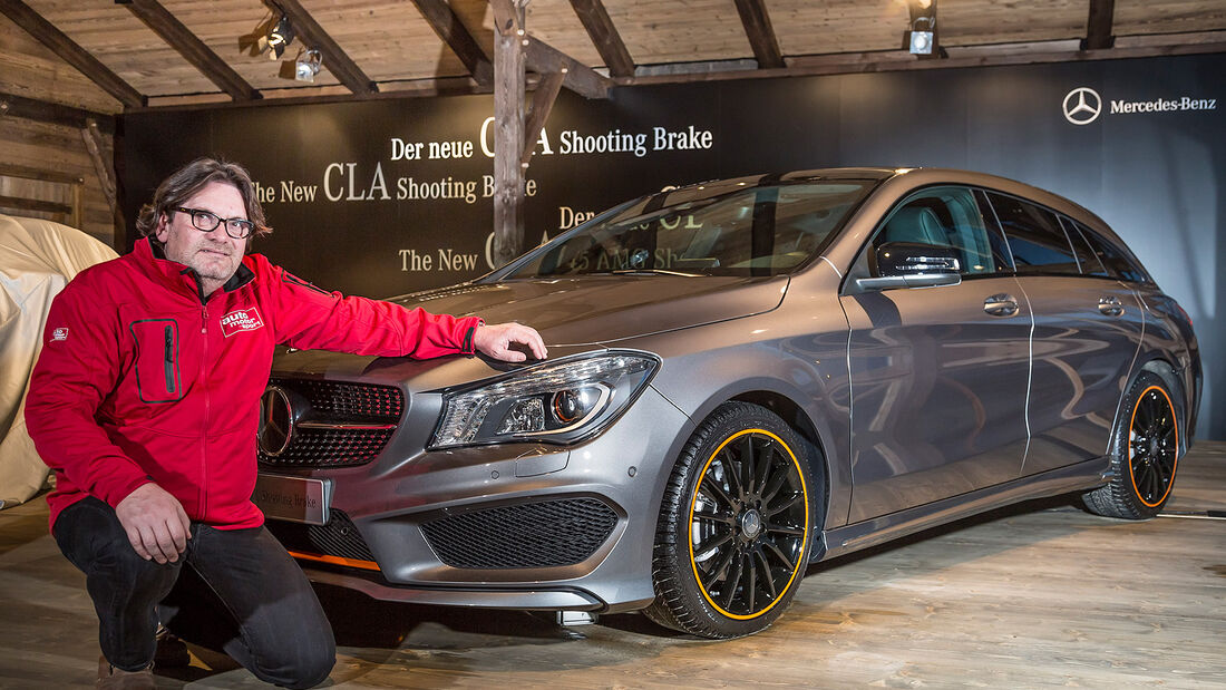 Mercedes CLA Shooting Brake Sitzprobe