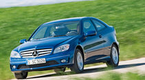Mercedes CLC 180 Kompressor, Frontansicht