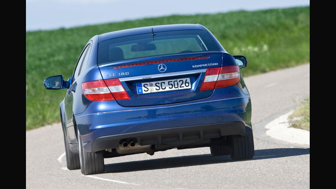 Mercedes CLC 180 Kompressor, Heckansicht