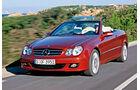 Mercedes CLK 200 Cabrio, Frontansicht