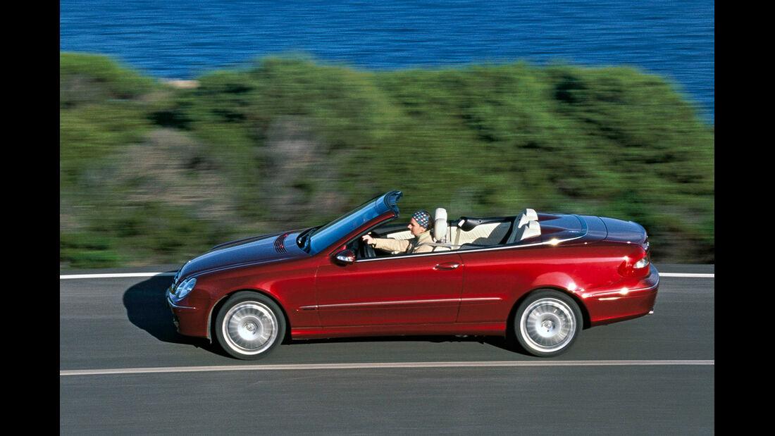 Mercedes CLK 200 Cabrio, Seitenansicht
