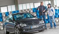 Mercedes CLK 55 AMG, Frontansicht