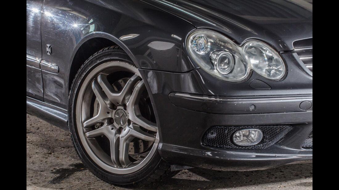 Mercedes CLK 55 AMG, Frontscheinwerfer