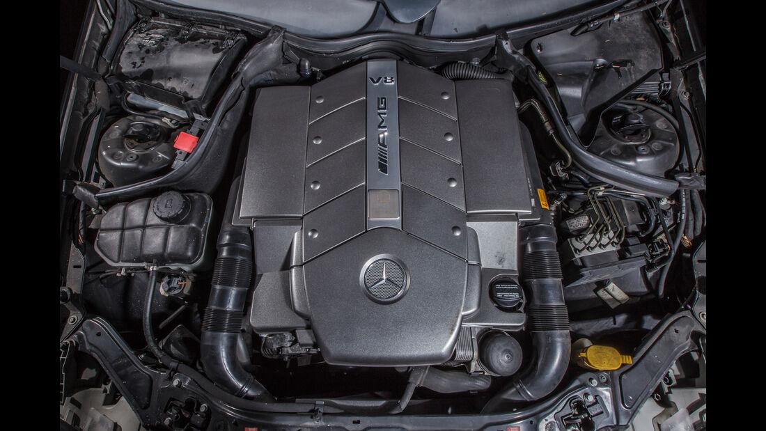 Mercedes CLK 55 AMG, Motor