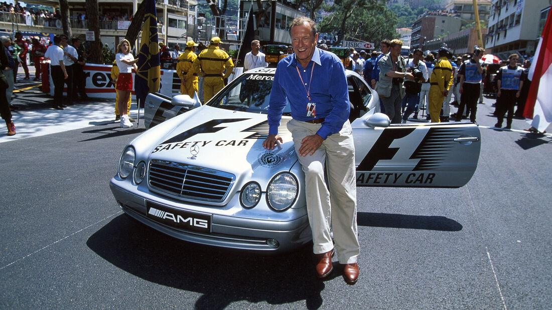 Mercedes CLK 55 AMG - Safety Car - GP Monaco 1999