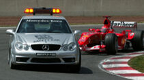 Mercedes CLK 55 AMG - Safety Car - GP Spanien 2003 - Barcelona