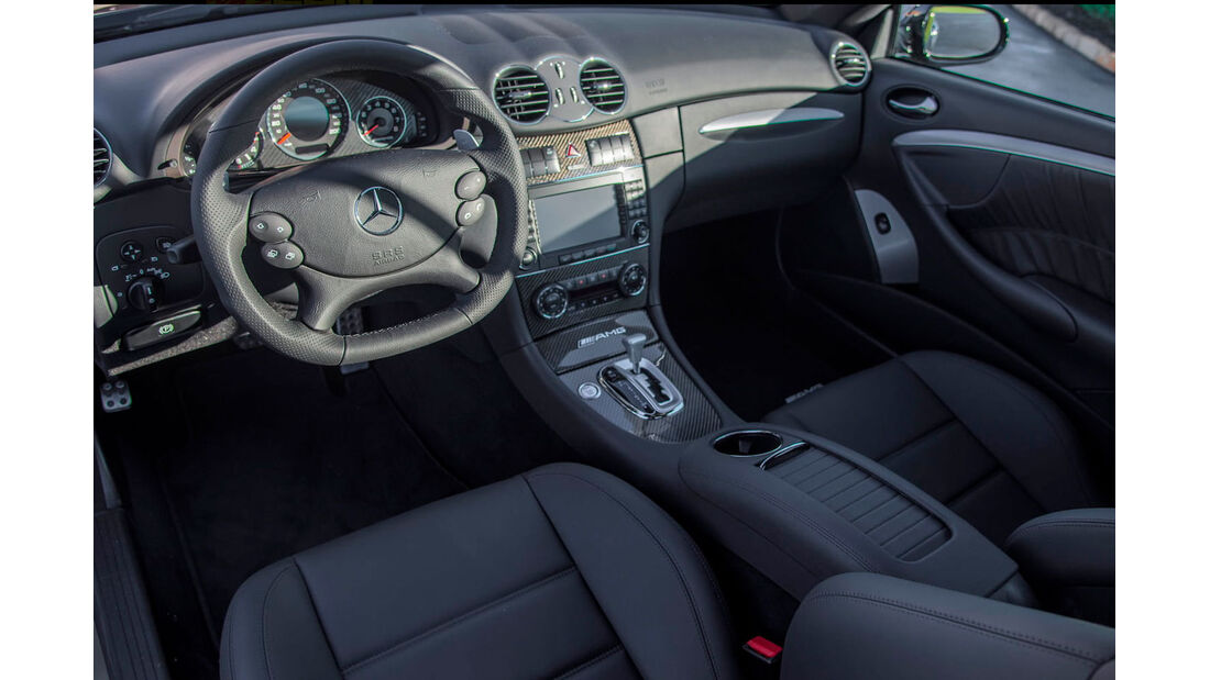 Mercedes CLK 63 AMG Black Series - Sportwagen- Innenraum