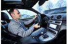 Mercedes CLK 63 AMG Coupé, Cockpit