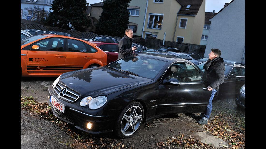 Mercedes CLK 63 AMG Coupé, Frontansicht