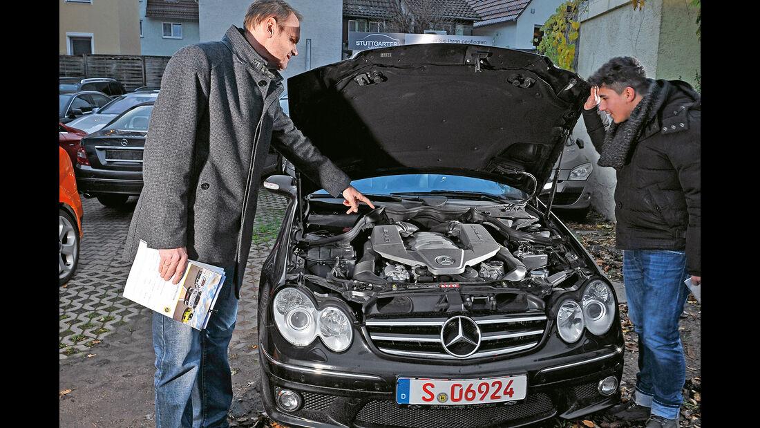 Mercedes CLK 63 AMG Coupé, Motor