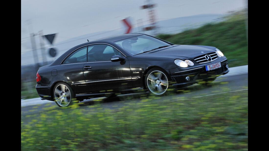 Mercedes CLK 63 AMG Coupé, Seitenansicht