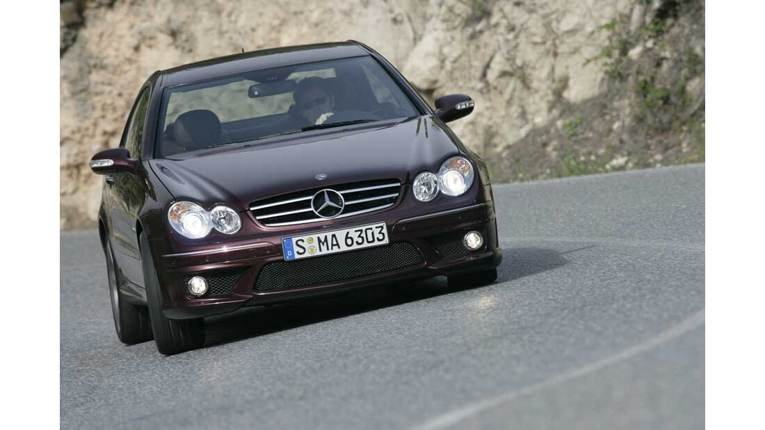 Mercedes CLK 63 AMG Coupe 02
