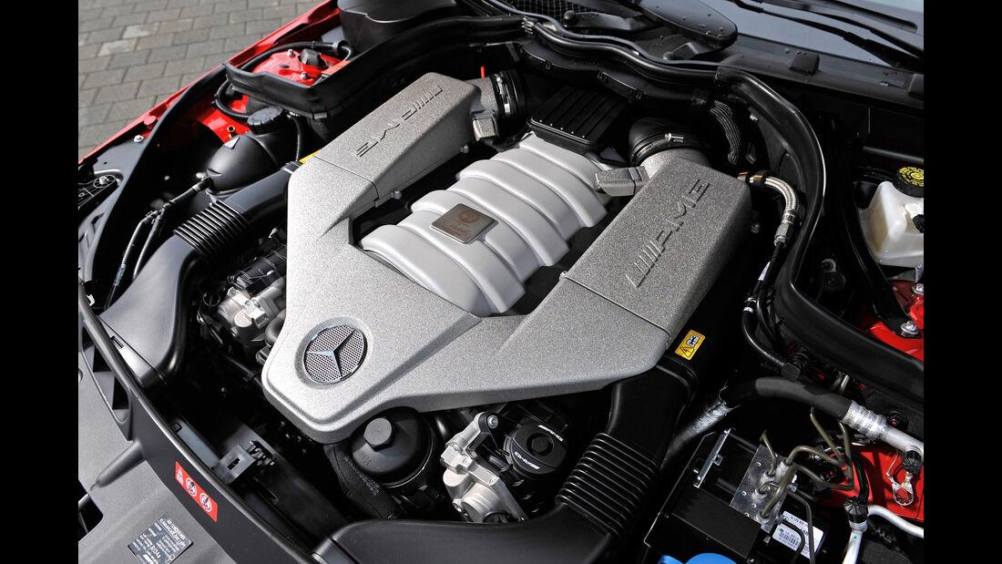 Mercedes CLK 63 AMG, Motor