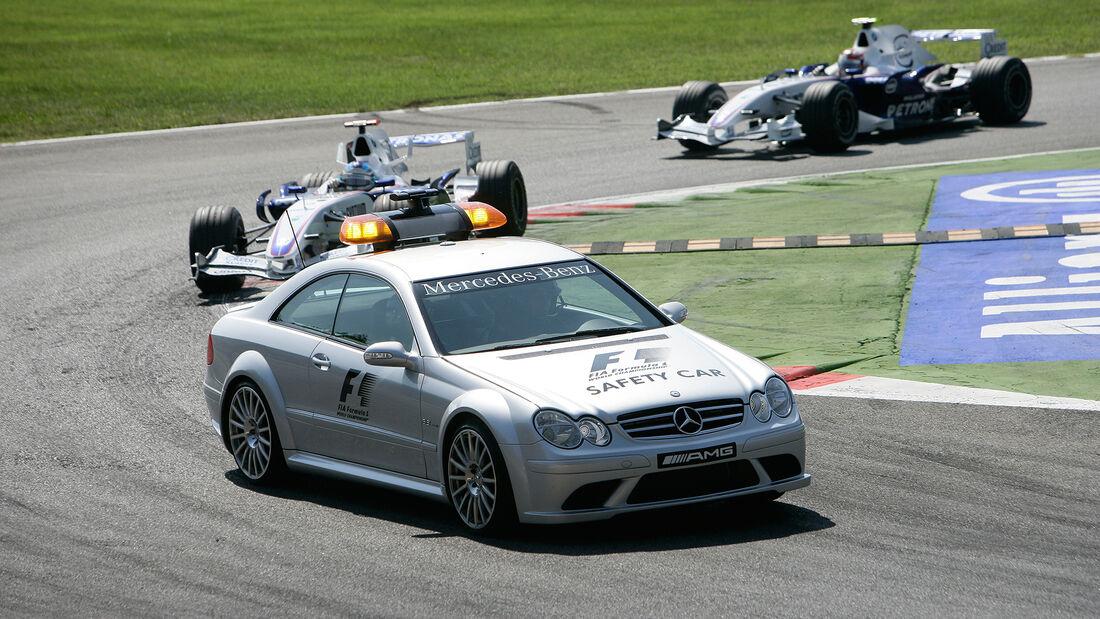 Mercedes CLK 63 AMG - Safety Car - GP Italien 2007 - Monza