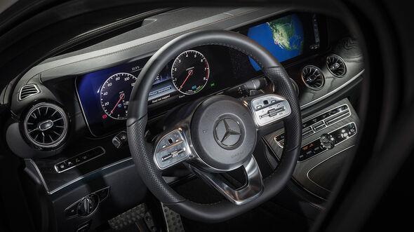 Mercedes CLS (2018) Sitzprobe Cockpit