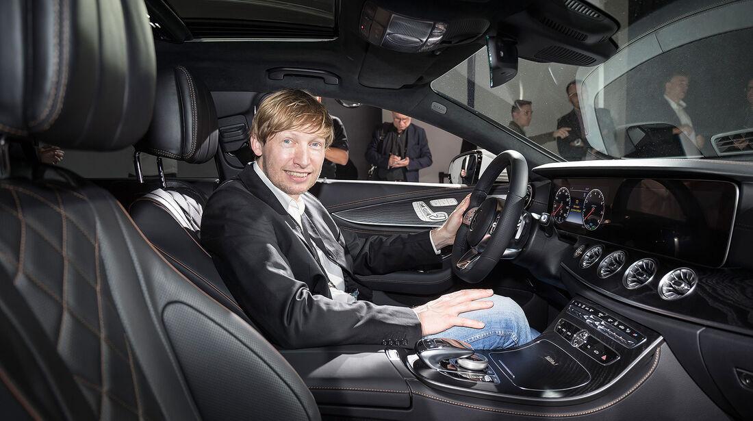 Mercedes CLS (2018) Sitzprobe Interieur