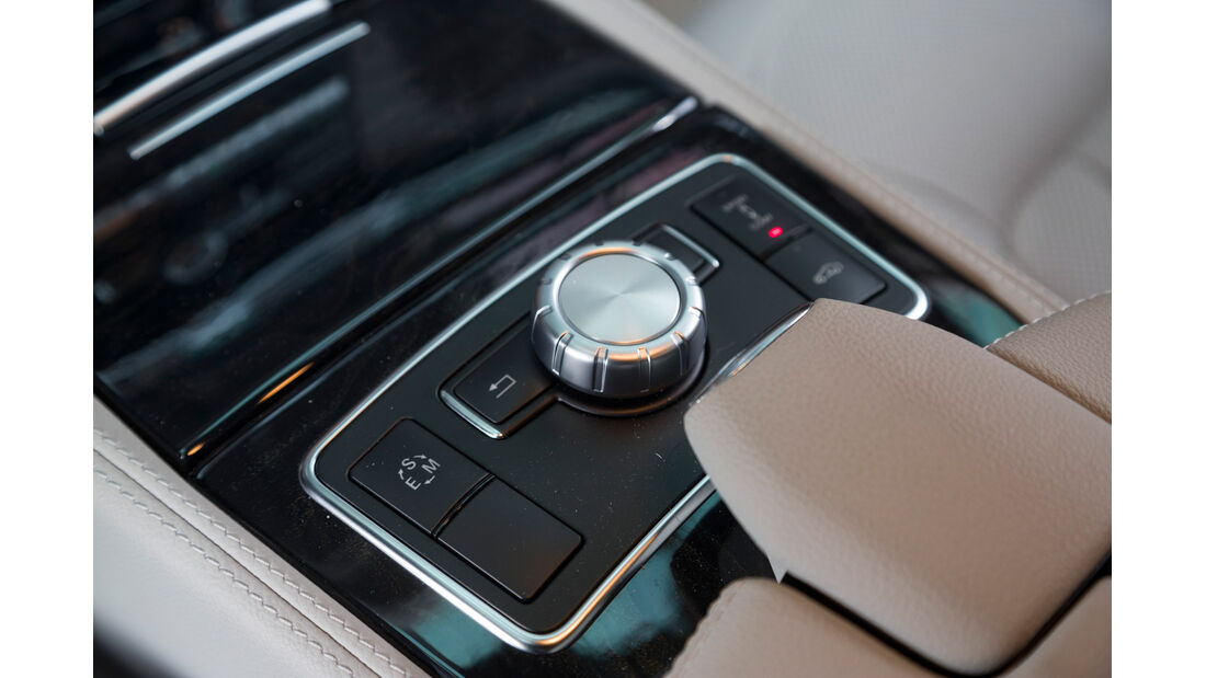 Mercedes CLS 250 CDI SB, Bedienelement