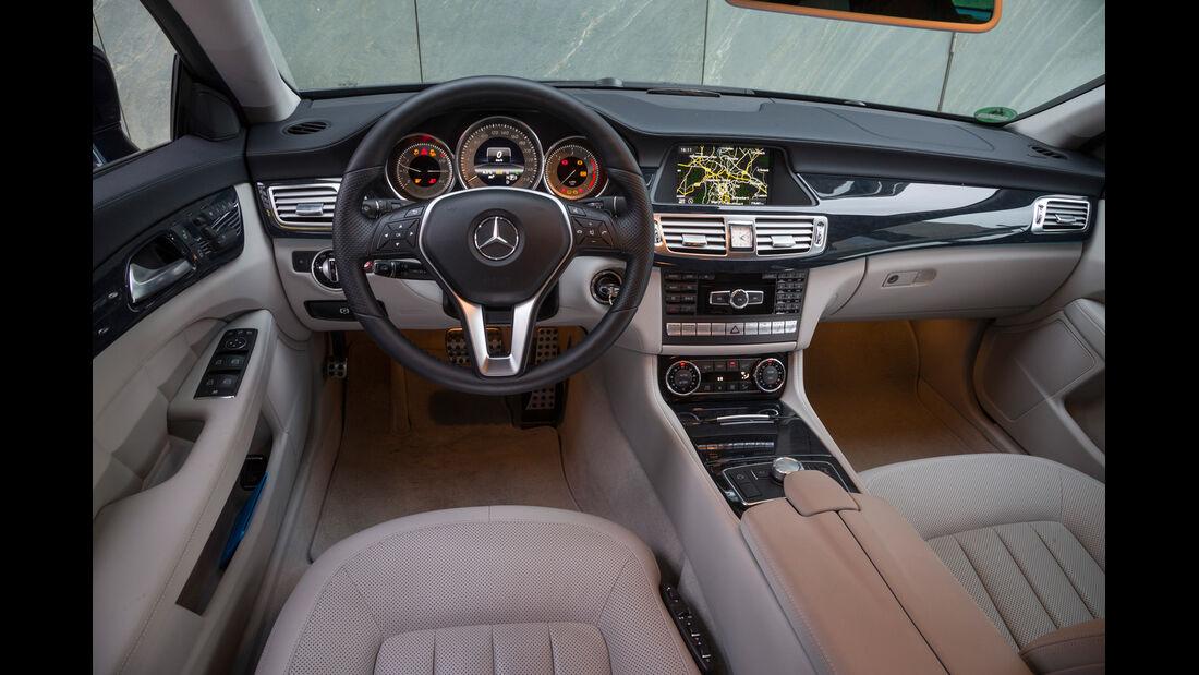 Mercedes CLS 250 CDI SB, Cockpit, Lenkrad