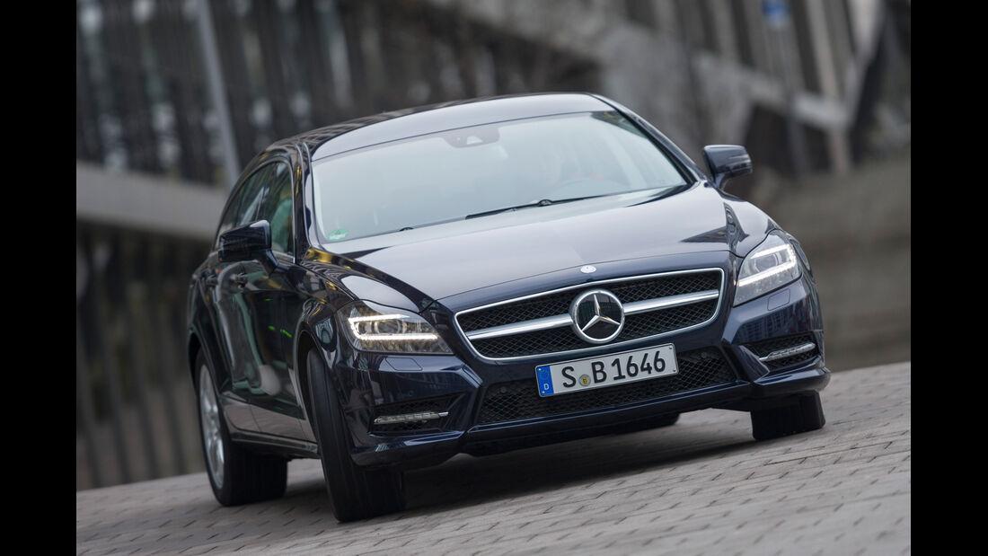 Mercedes CLS 250 CDI SB, Frontansicht