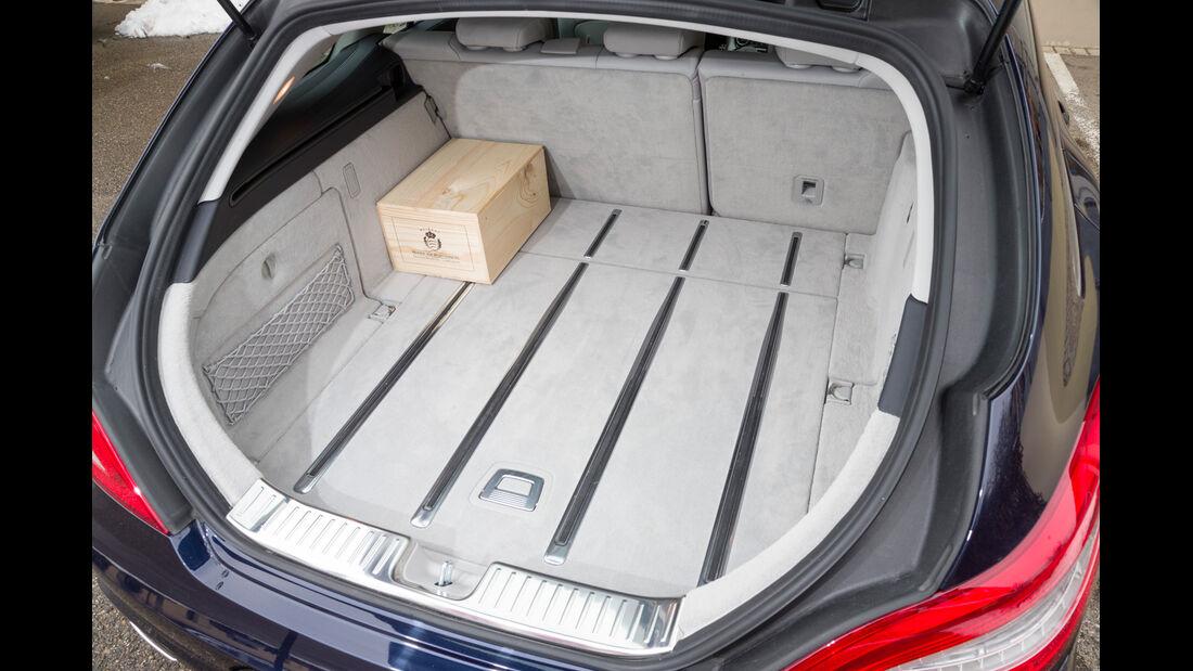 Mercedes CLS 250 CDI SB, Kofferraum, Ladefläche