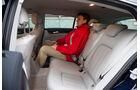 Mercedes CLS 250 CDI SB, Rücksitz, Beinfreiheit