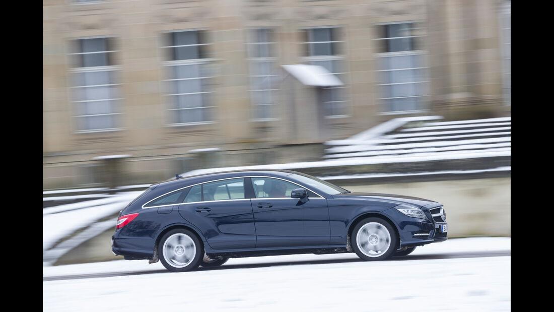 Mercedes CLS 250 CDI SB, Seitenansicht