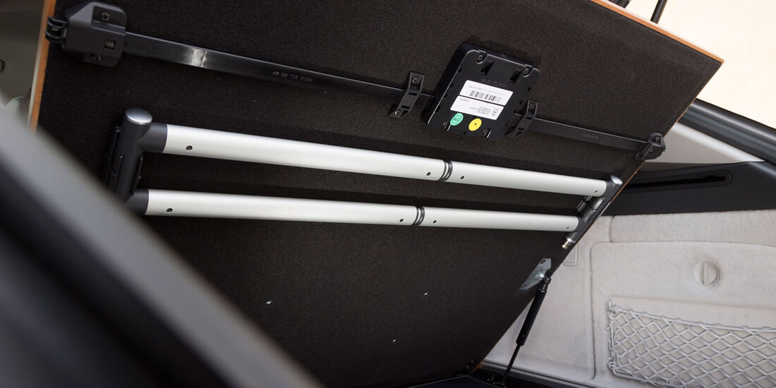 Mercedes CLS 250 CDI Shooting Brake, Abdeckung