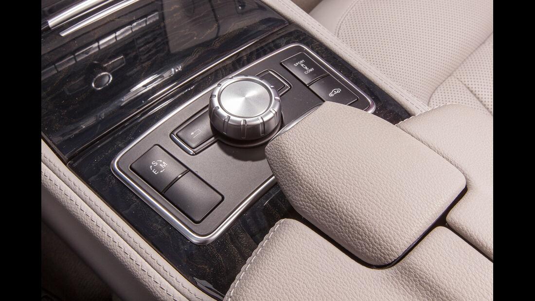 Mercedes CLS 250 CDI Shooting Brake, Bedienelemente
