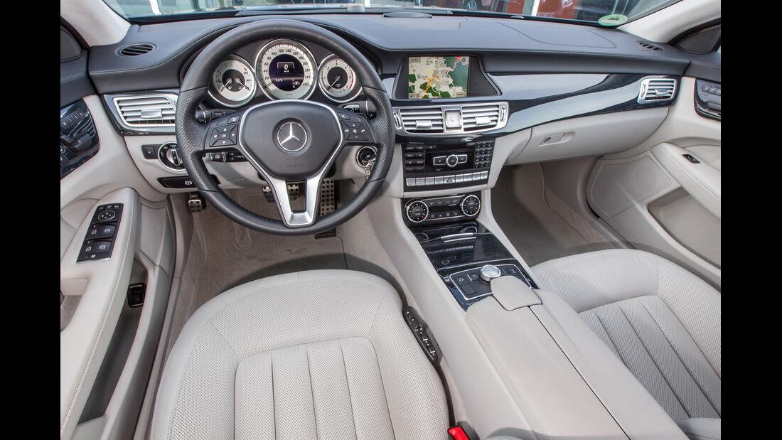 Mercedes CLS 250 CDI Shooting Brake, Cockpit