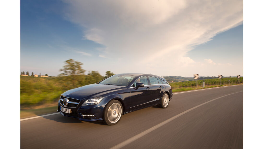 Mercedes CLS 250 CDI Shooting Brake, Frontansicht